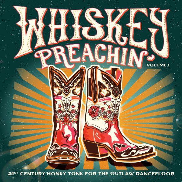 ++LP 184651 Whiskey Preachin 1 Cover