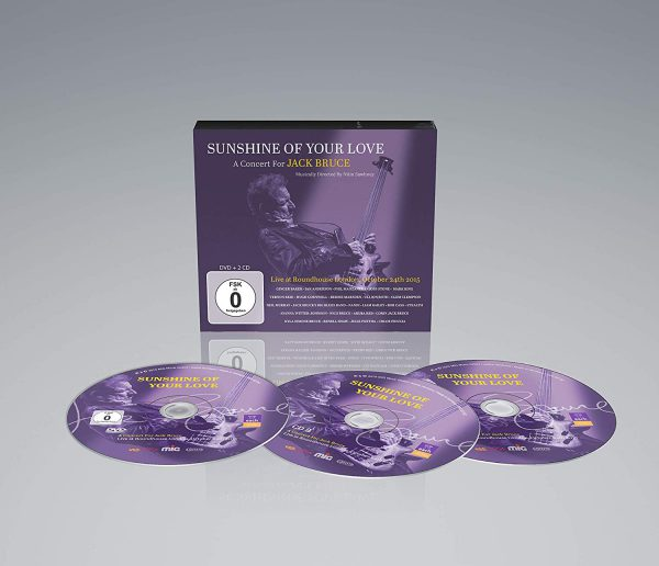 +Sunshine Of Your Love A Concert For Jack Bruce - Promo
