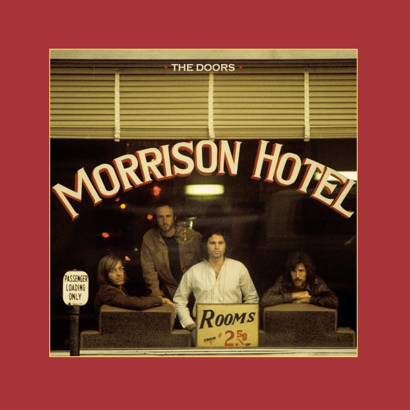 """THE DOORS 1970 PROMOTIONAL POSTER FOR THE ALBUM /""""MORRISON HOTEL/"""""""