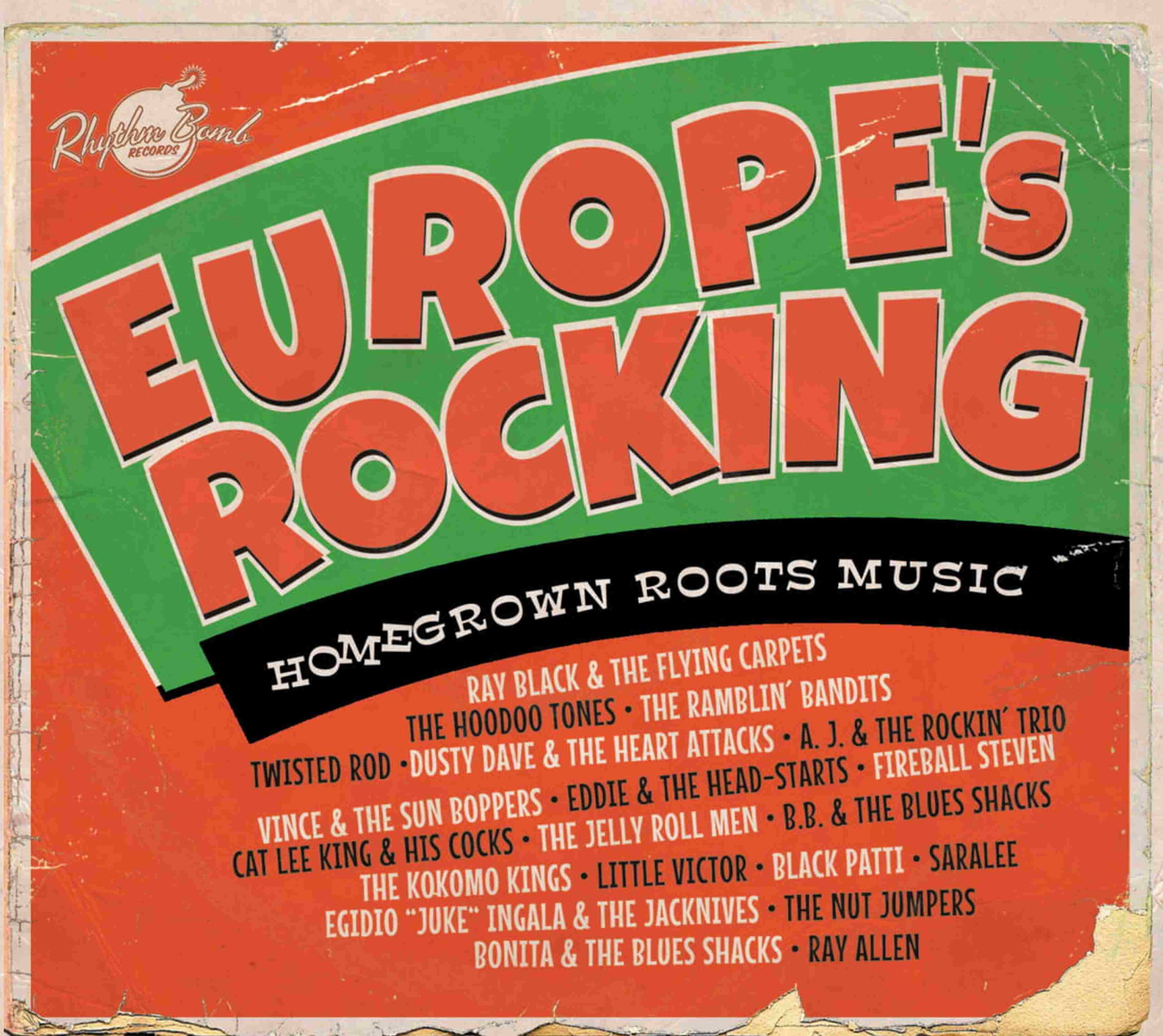 Recensie: Various Artists - Europe's Rocking – Homegrown Roots Music
