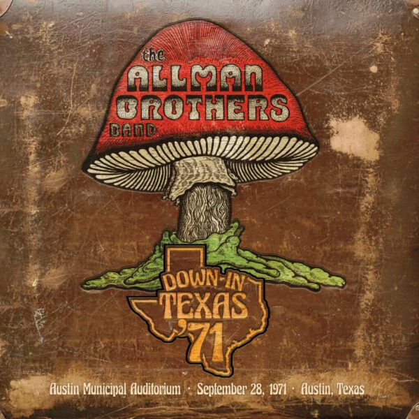 The Allman Brothers - Down-In-Texas-71