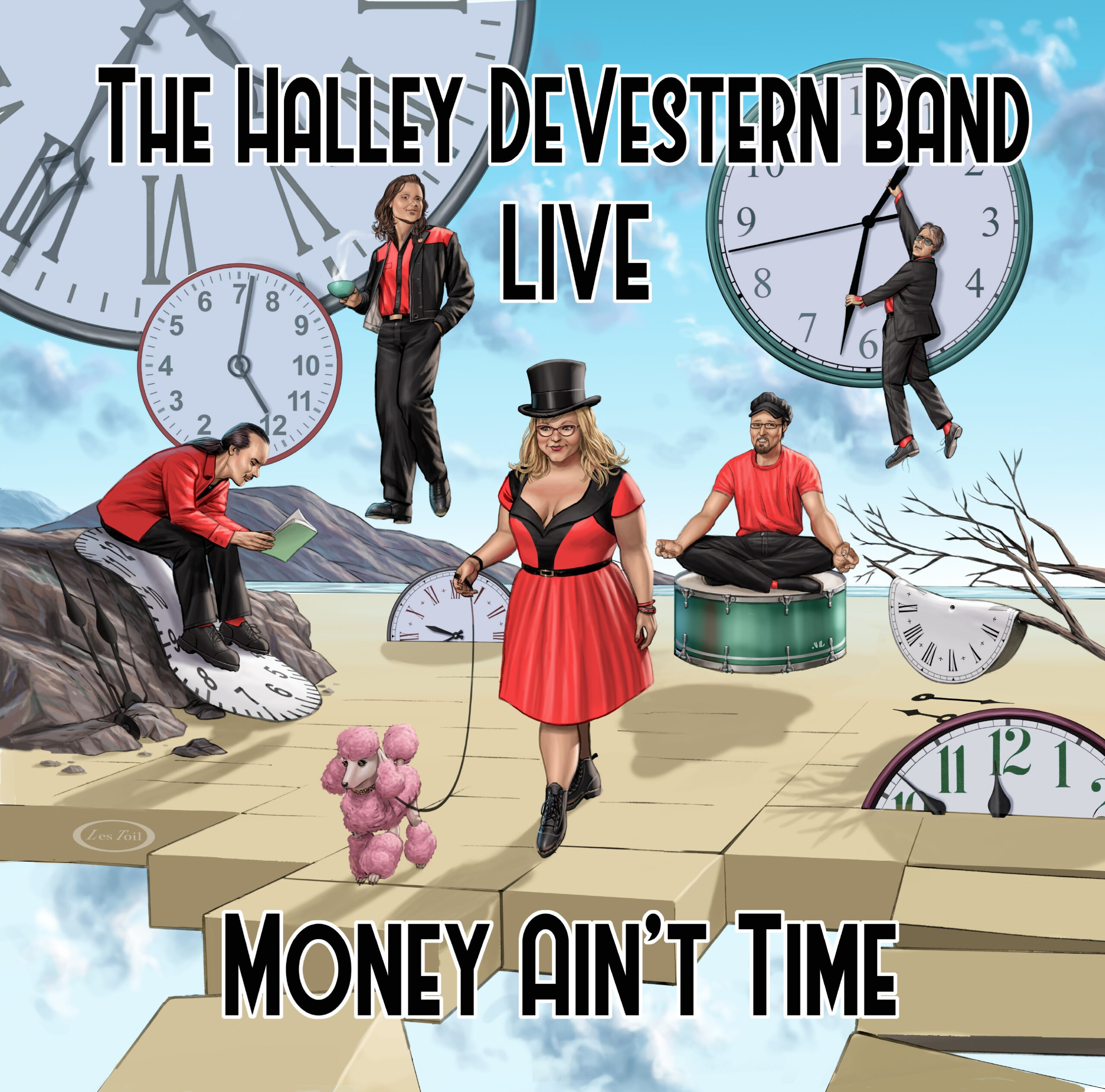The Halley DeVestern Band - Money Ain't Time