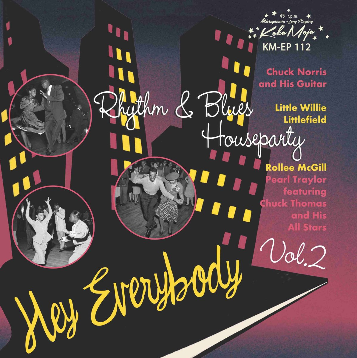 Various Artists - Hey Everybody – Rhythm & Blues Houseparty Vol. 2