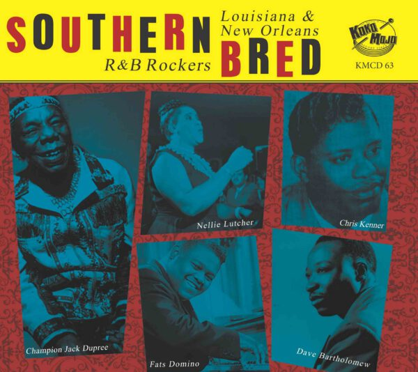 Southern Bred 13 Louisiana R&B Rockers frontweb
