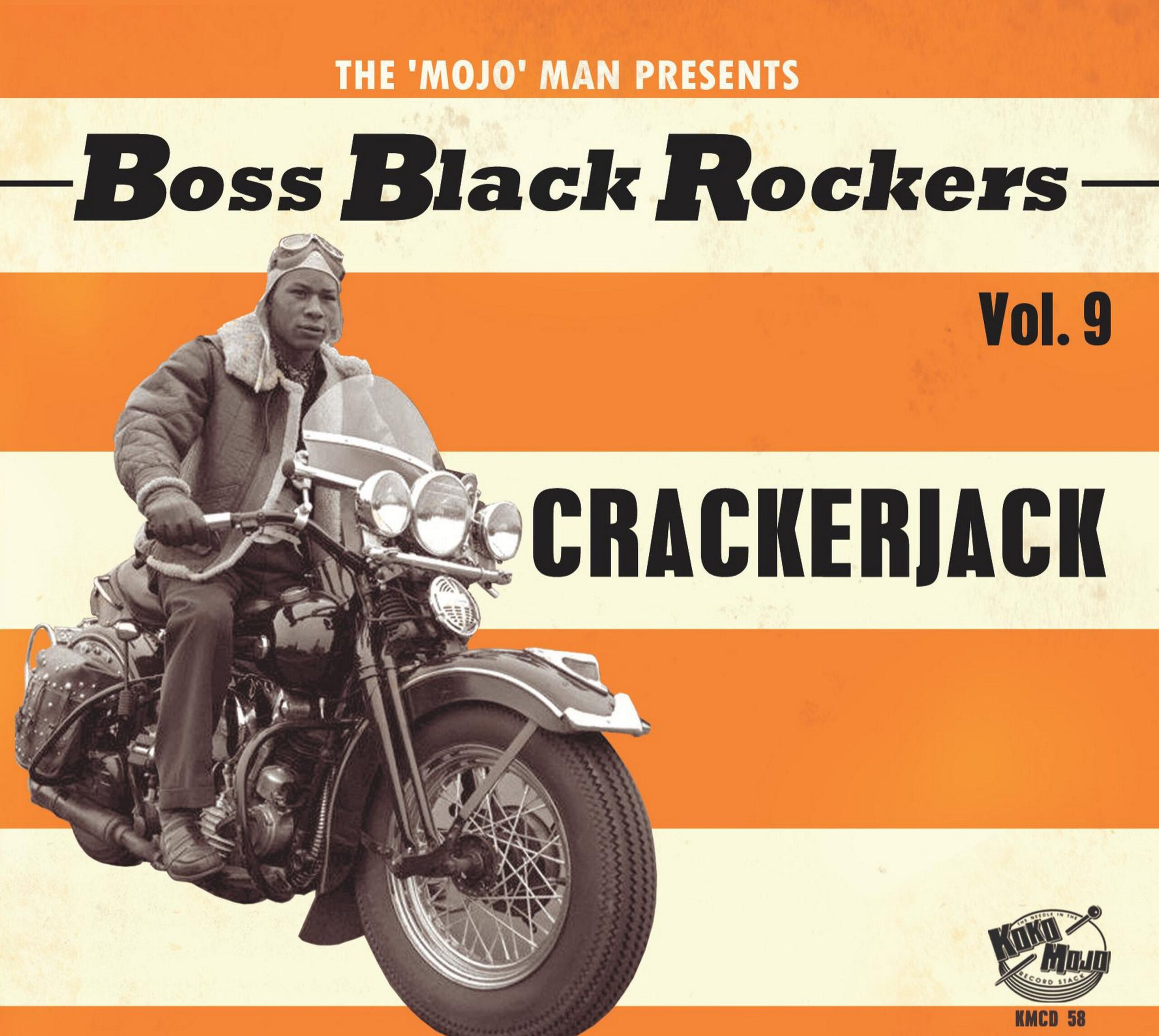 Various Artists - Boss Black Rockers Volume 9 - Crackerjack - front