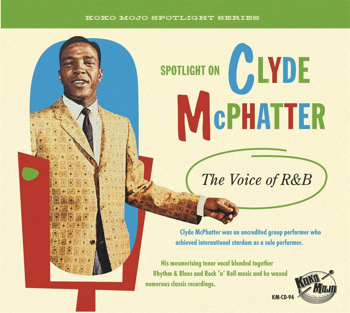 Various Artists - Spotlight On Clyde McPhatter – The Voice Of R&B