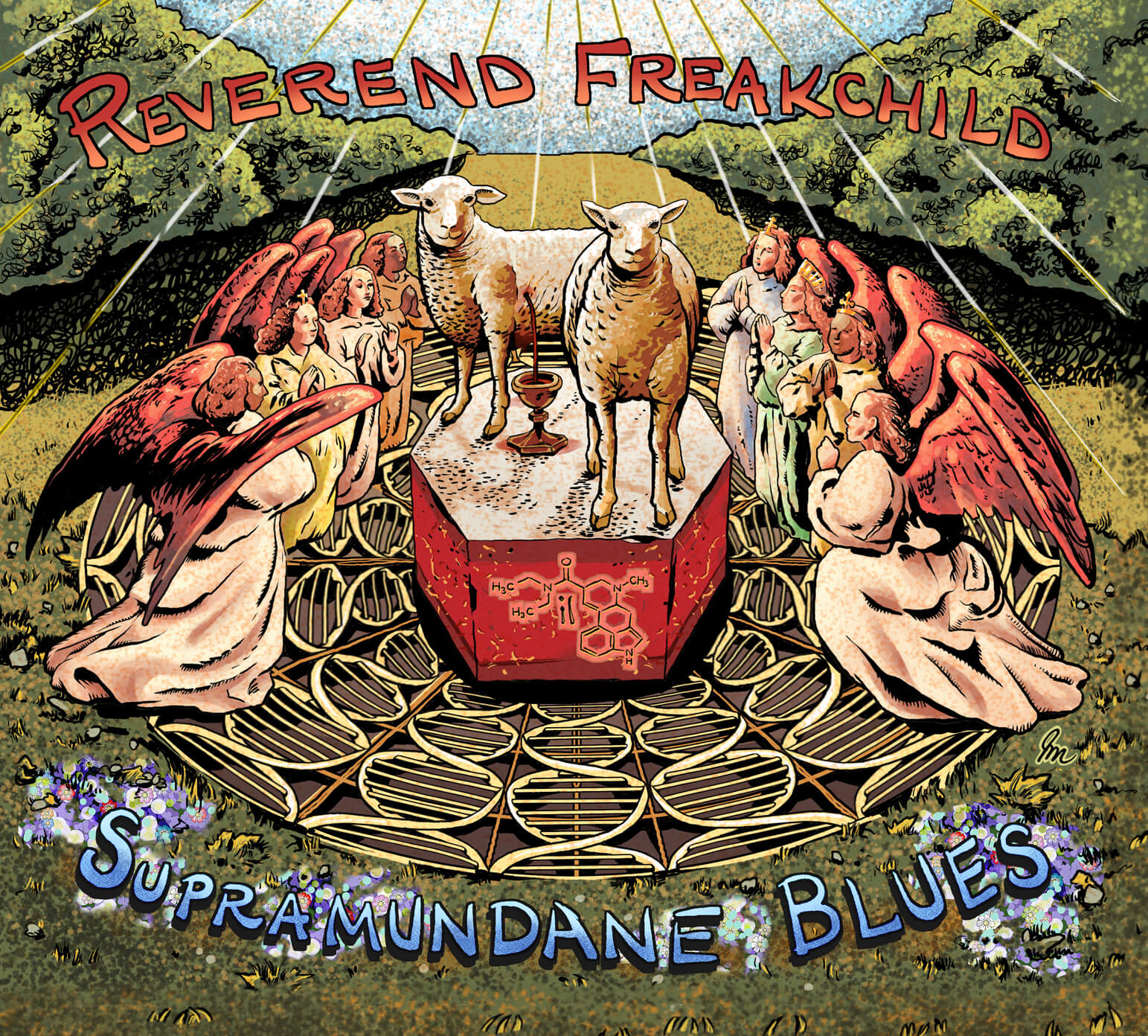 Reverend Freakchild - Supramundane Blues