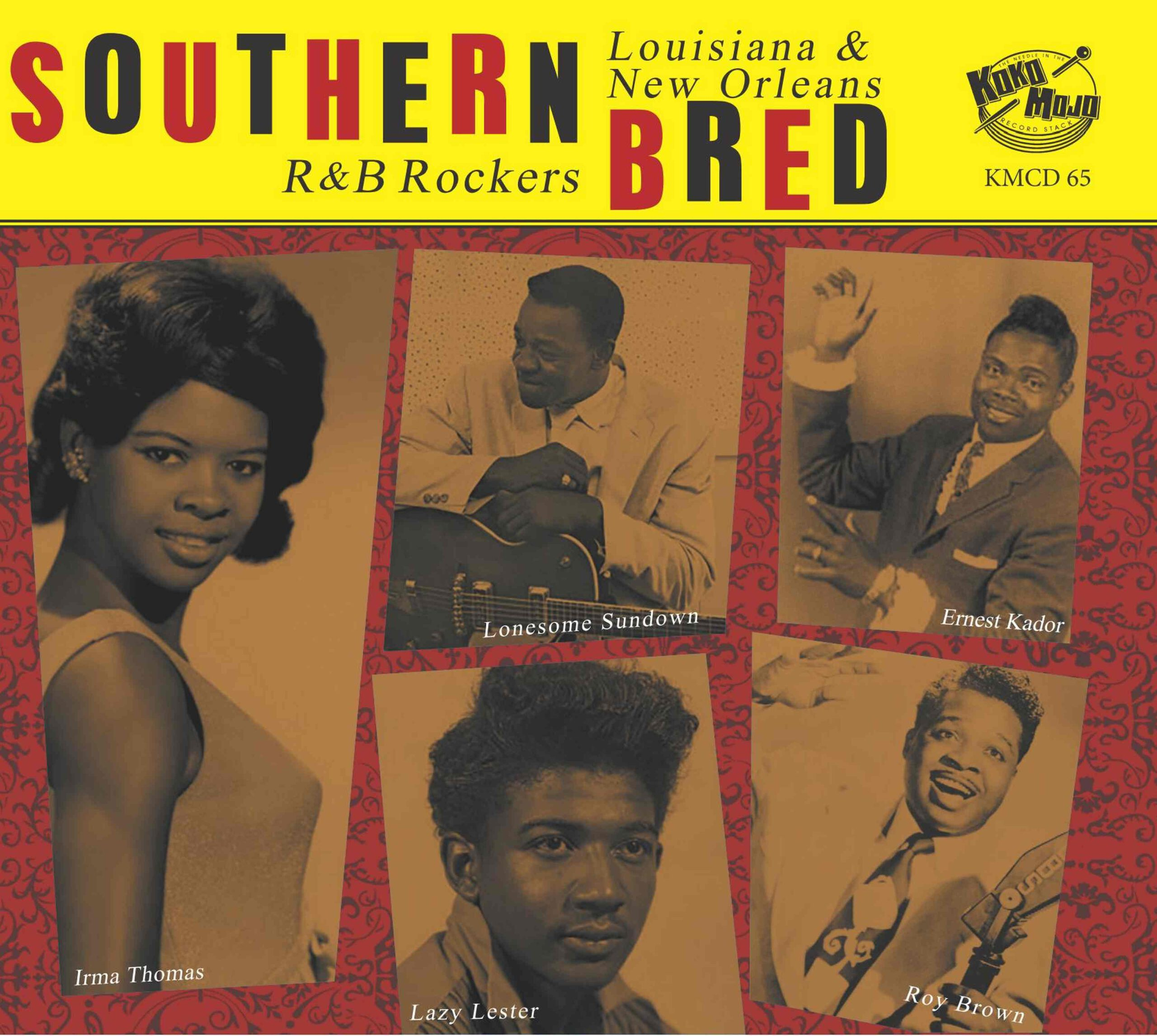 Various Artists - I Hate To See You Go – Southern Bred 15 Louisiana New Orelans R & B Rockers