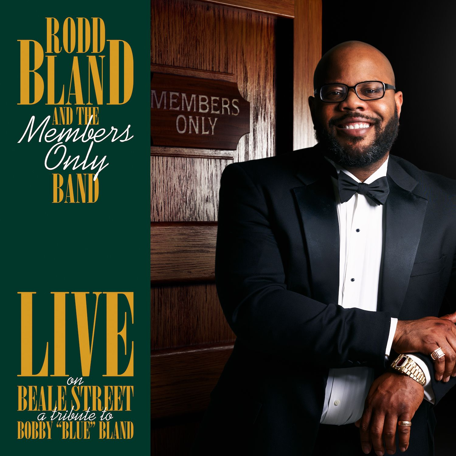 Rodd Bland & the Members Only Band - Sittin' On A Poor Man's Throne