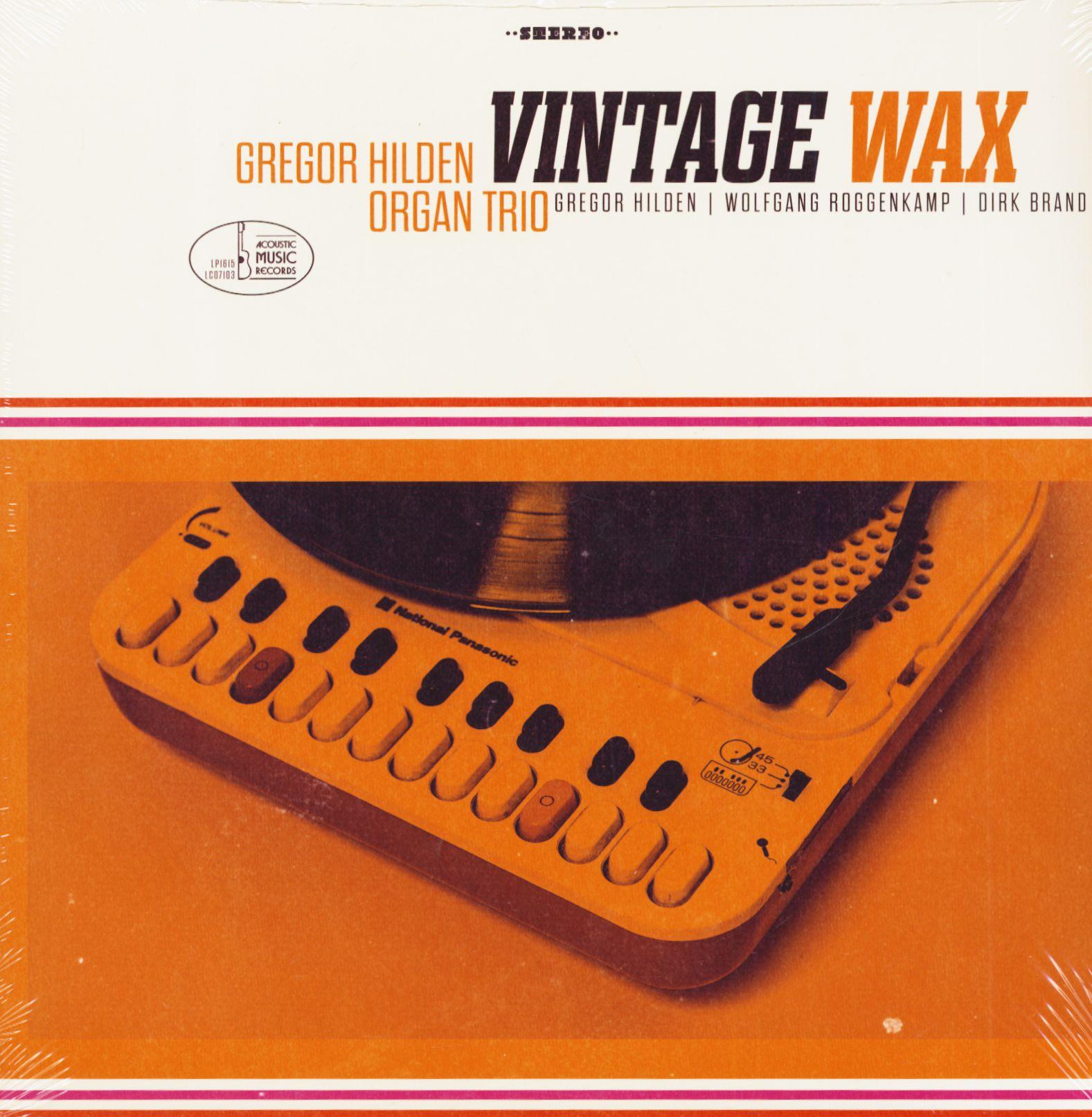 Gregor Hilden Organ Trio - Vintage Wax