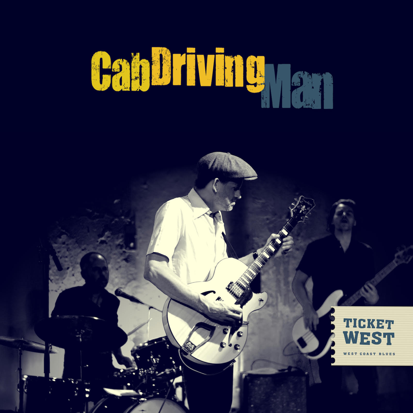 Ticket West - Cab Driving Man