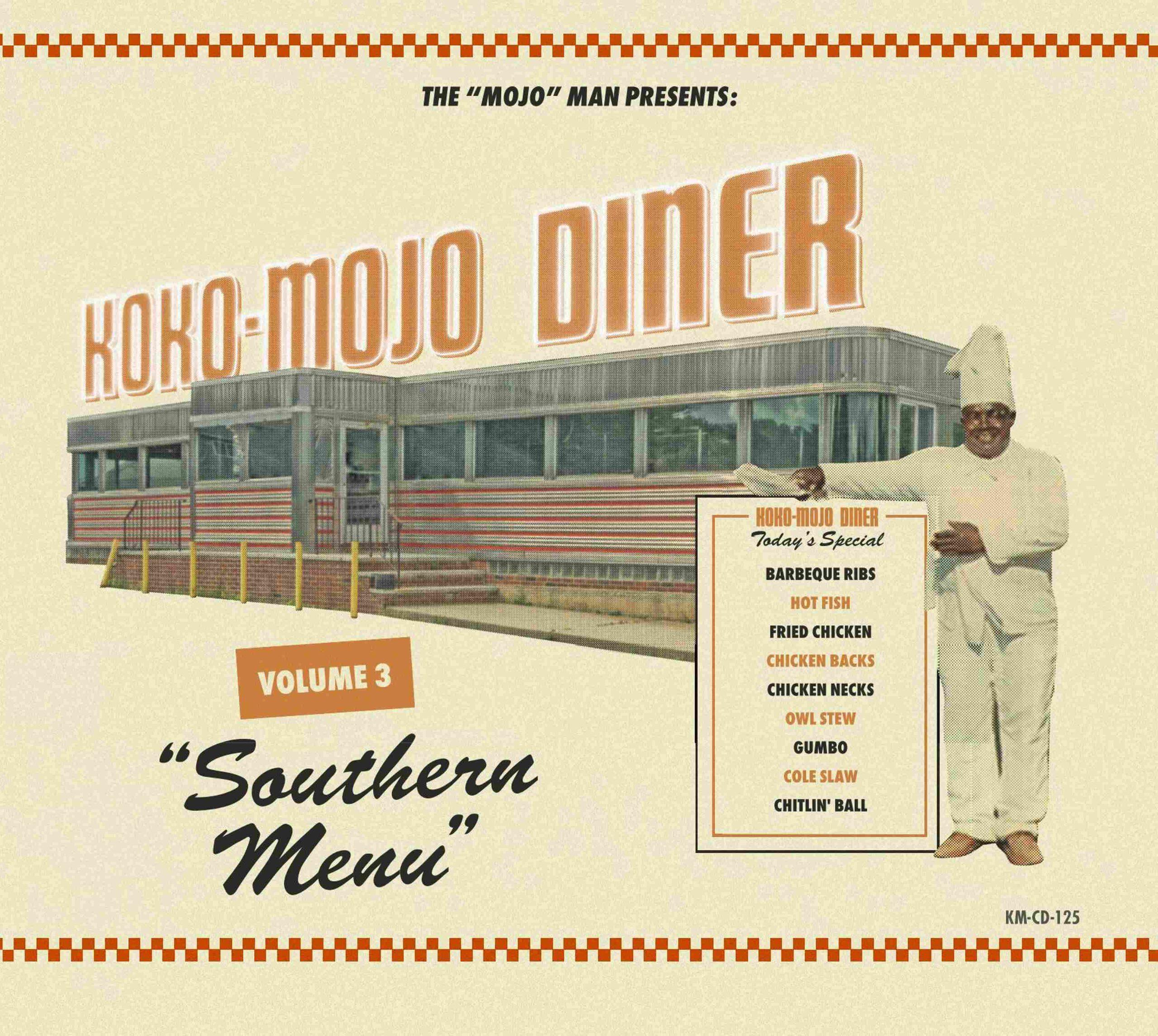 Various Artists - Koko-Mojo Diner 3 – Southern Menu