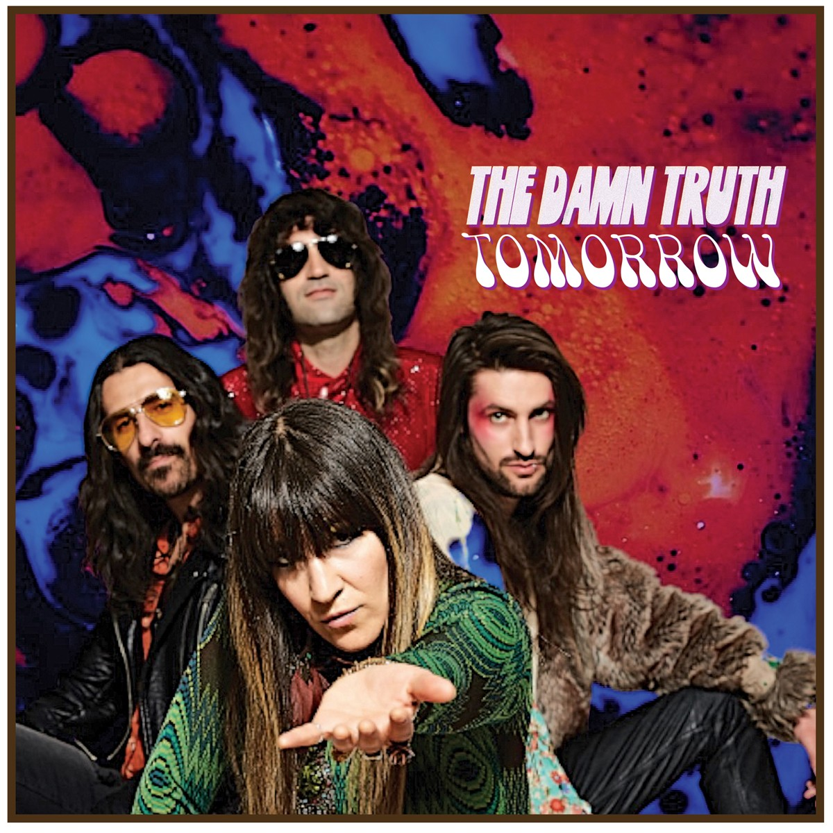 The Damn Truth_Tomorrow_single artwork