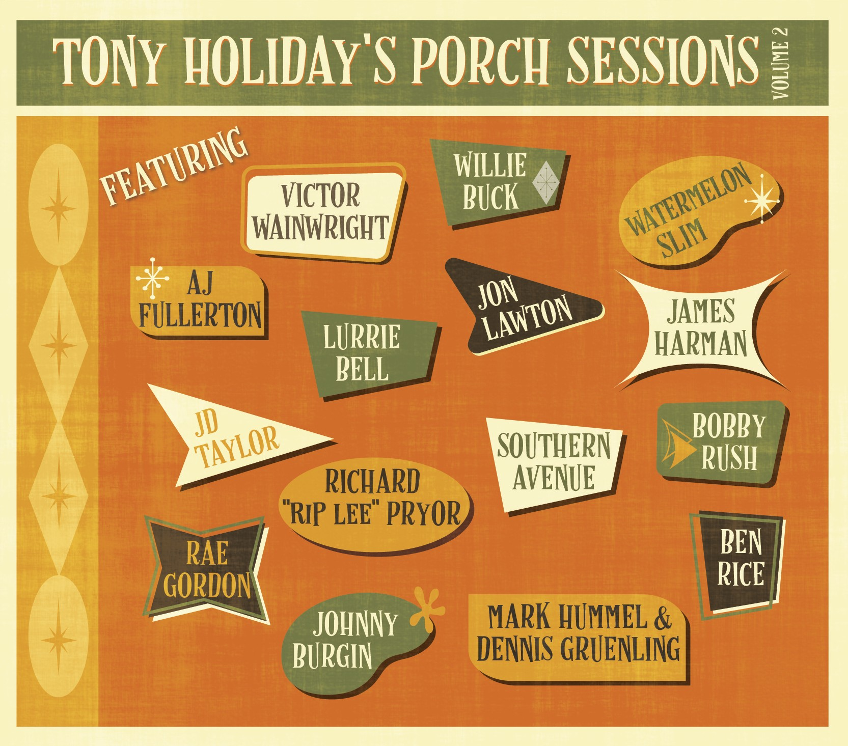 Tony Holiday - Porch Sessions Volume 2